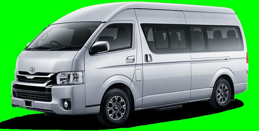 Toyota Hiace airport Transfer Mauritius