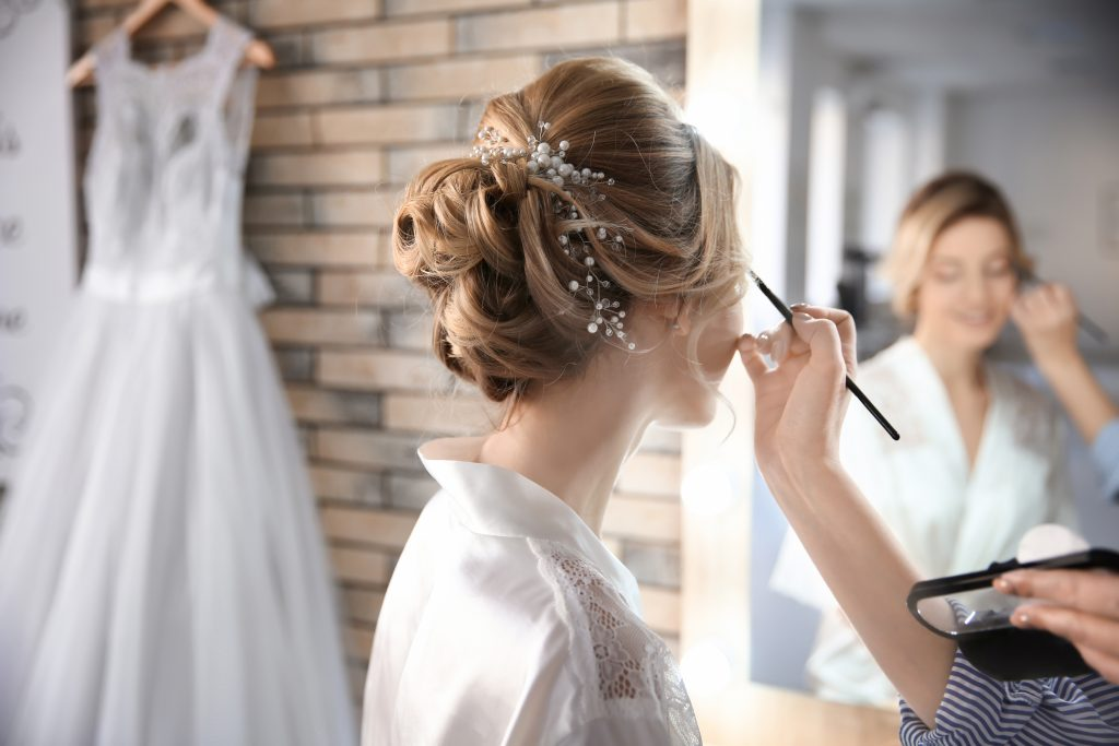 Wedding make up artist mauritius wedding planner