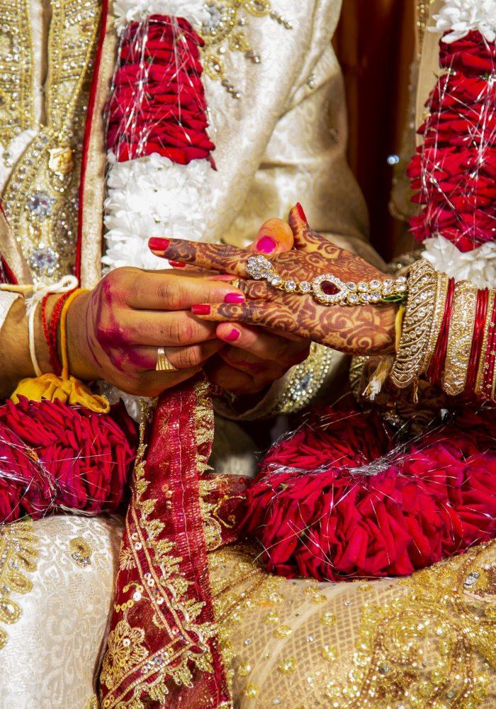 Indian religious wedding in Mauritius