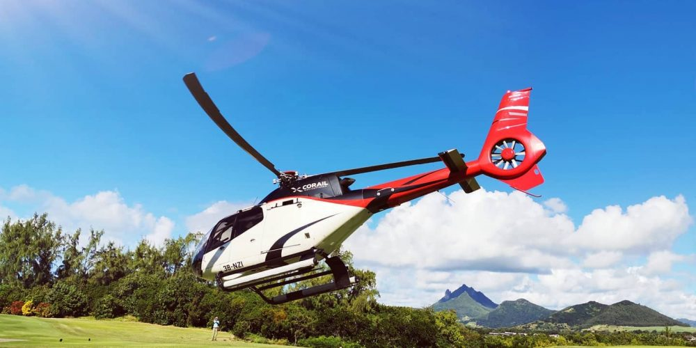 Corail Helicopter Service In Mauritius