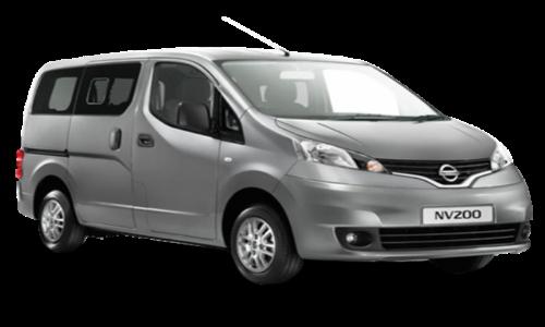 Nissan NV 200 Car rental Mauritius 7 Seater