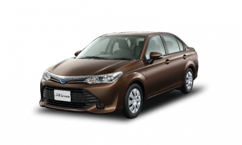 Toyota Axio Car Rental Mauritius